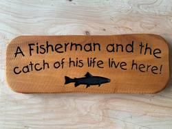 Buy A Fisherman and the Catch of his Life in NZ New Zealand.